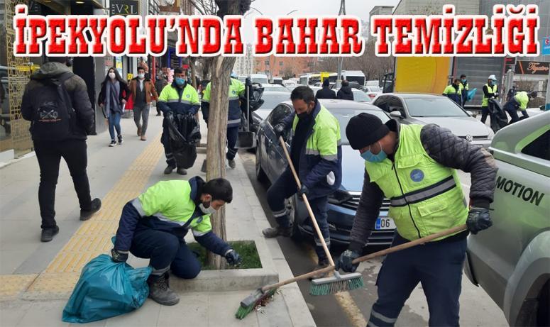 İpekyolu'ndaki cadde ve sokaklarda kapsamlı temizlik…