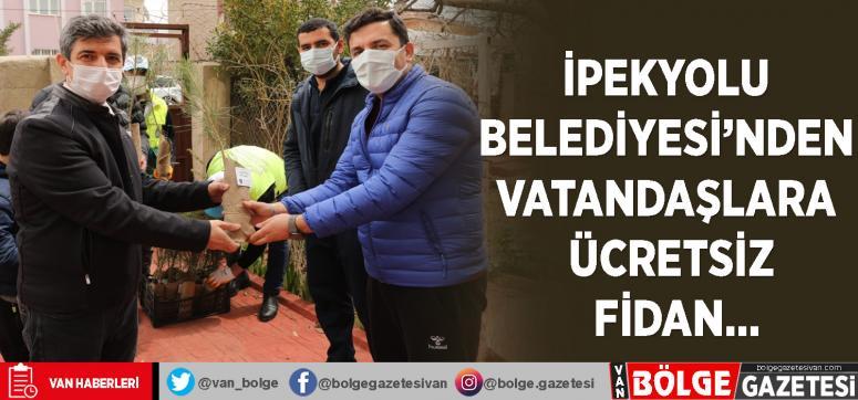 İpekyolu Belediyesi'nden vatandaşlara ücretsiz fidan…