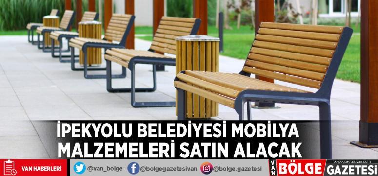 İpekyolu Belediyesi mobilya malzemeleri satın alacak