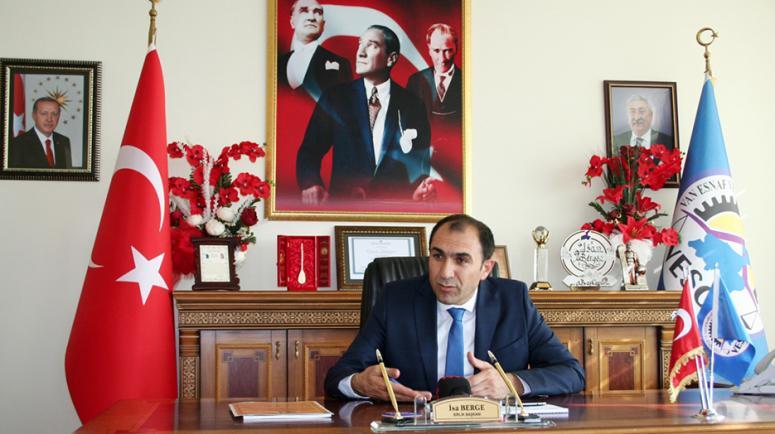 Başkan Berge'den, 10 Kasım mesajı…