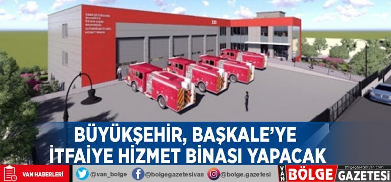 Büyükşehir, Başkale'ye itfaiye hizmet binası yapacak