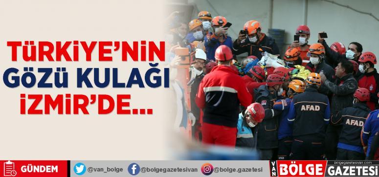Türkiye'nin gözü kulağı İzmir'de