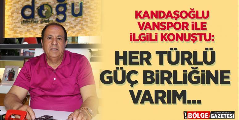 Kandaşoğlu: