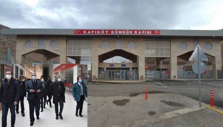 Van TSO heyetinden Kapıköy ziyareti…