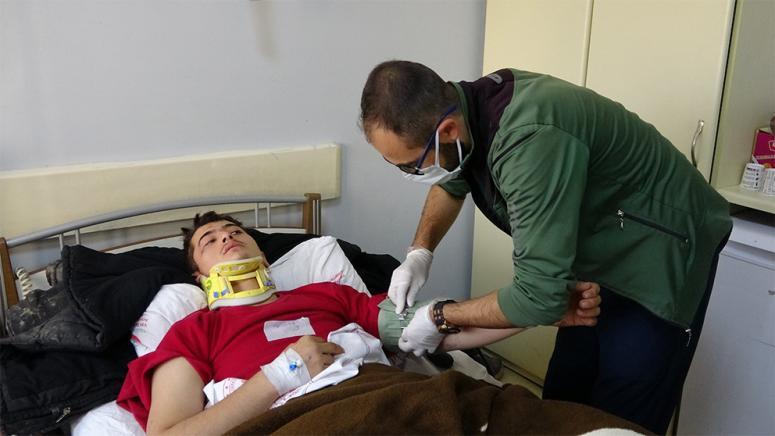 Yaralı göçmen yaşadığı dehşeti anlattı