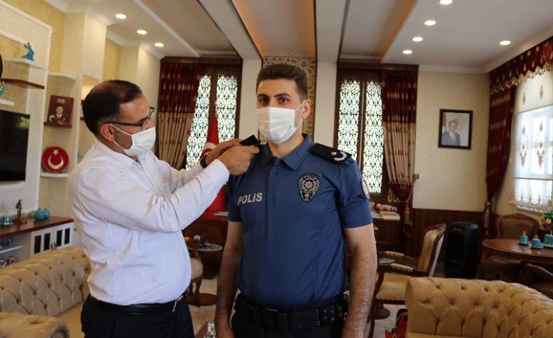 Başkomiser Kırtıl, İlçe Emniyet Amirliği'ne terfi etti