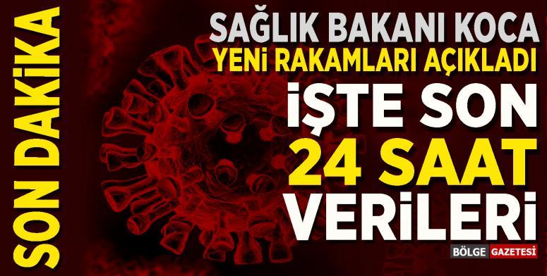 21 Temmuz verilerinde vaka ve ölüm sayısı...