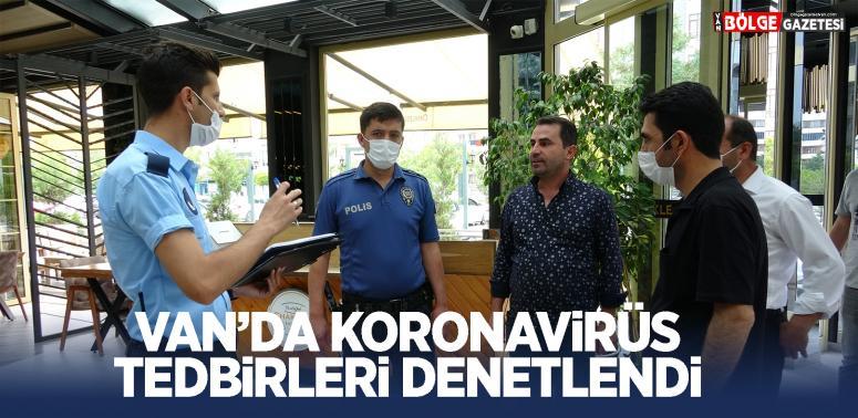 İpekyolu Belediyesi'nden koronavirüs denetimleri...