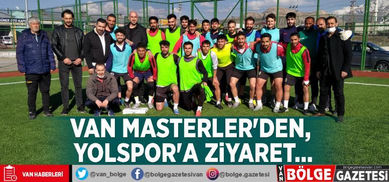Van Masterler'den, Yolspor'a ziyaret…