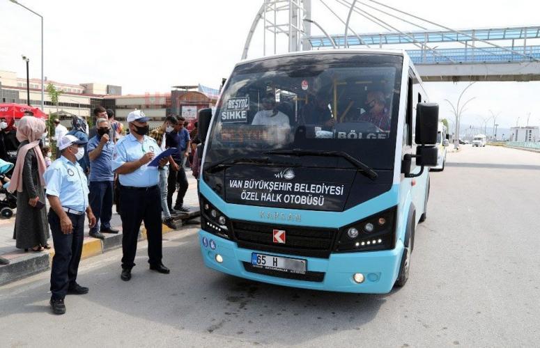 Van'da engelli vatandaşı otobüse almayan şoför hakkında soruşturma...
