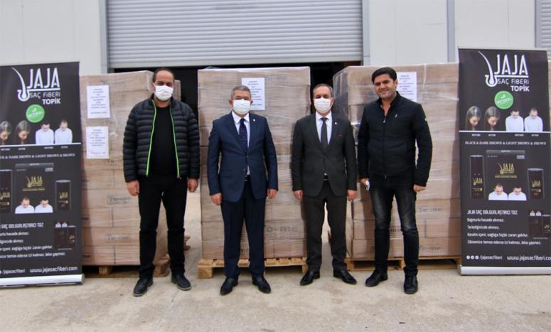 Van'da üretilen saç fiberi birçok ülkeye ihraç ediliyor