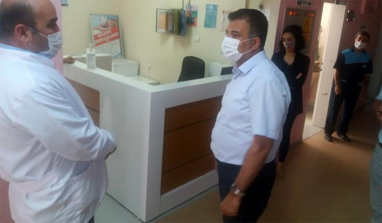 Sünnetçioğlu, sağlık hizmetlerinin aksamamasını istedi