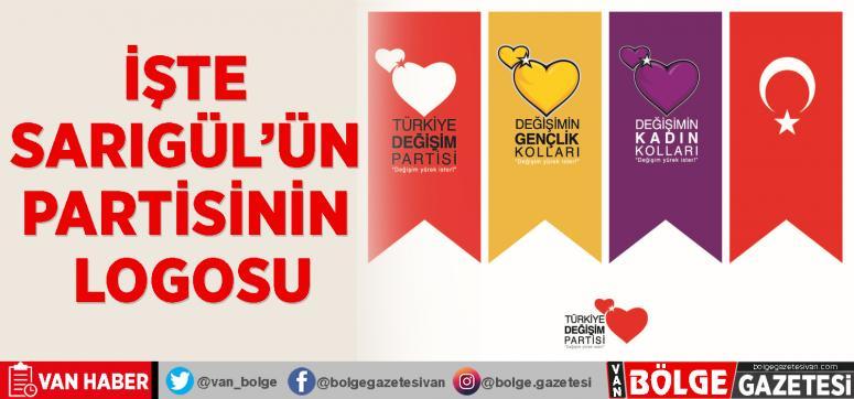 İşte Sarıgül'ün partisinin logosu