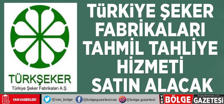 Türkiye Şeker Fabrikaları tahmil tahliye hizmeti satın alacak
