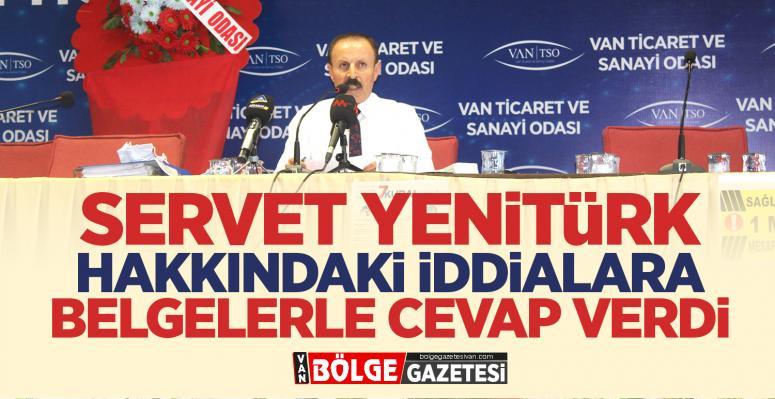 Yenitürk: Katkılarımız belgelerle mevcut
