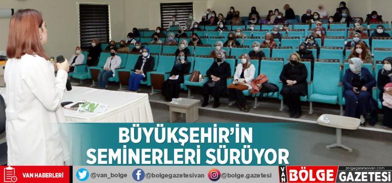 Büyükşehir'in seminerleri sürüyor
