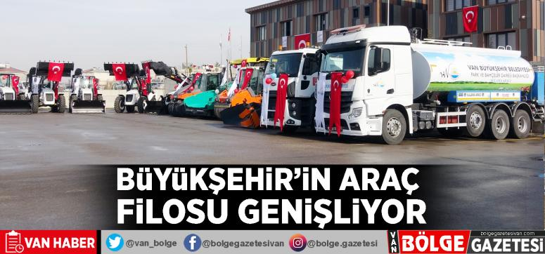 Büyükşehir'in araç filosu genişliyor