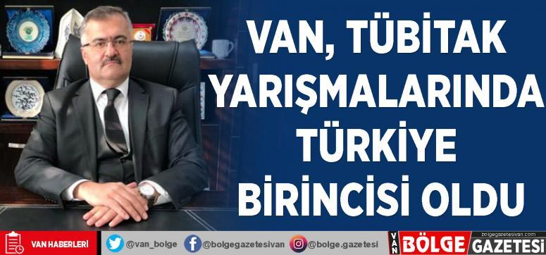 Van, TÜBİTAK yarışmalarında Türkiye birincisi oldu