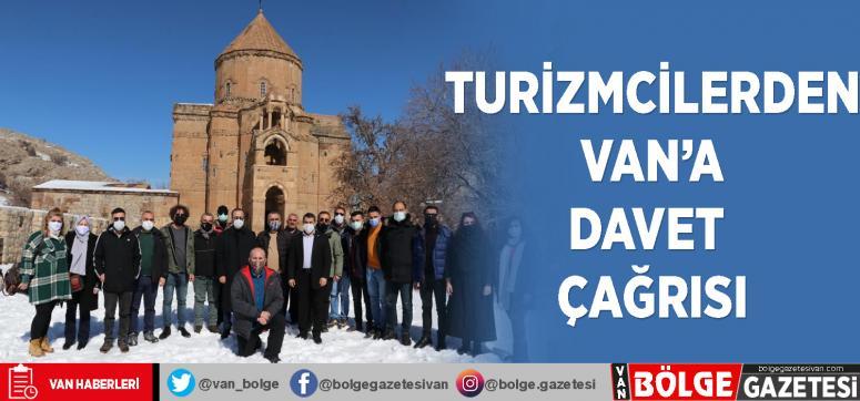 Turizmcilerden Van'a davet çağrısı