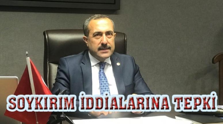 Milletvekili Arvas'tan soykırım iddialarına tepki...