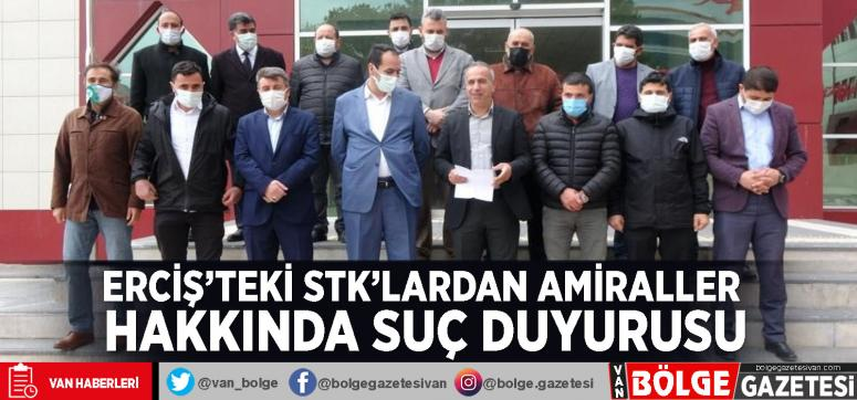 Erciş'teki STK'lardan amiraller hakkında suç duyurusu