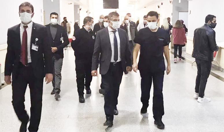 Müdür Sünnetçioğlu'ndan, Bölge Hastanesi'ne ziyaret...
