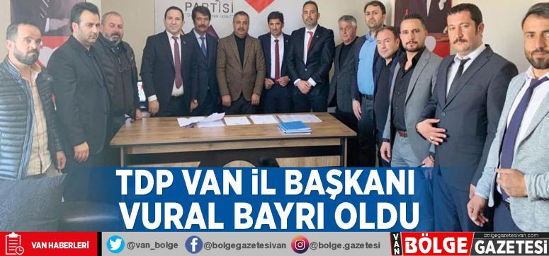 TDP Van İl Başkanı Vural Bayrı oldu