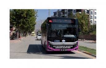 Van'da birçok güzergâh otobüs seferleri ile buluştu