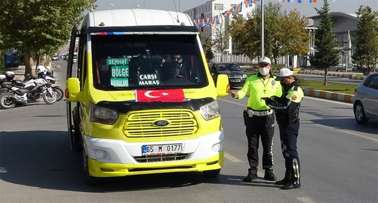 Van Polisi, toplu taşıma araçlarında denetimlerini artırdı