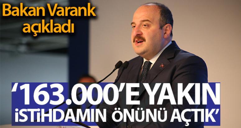Varank: Otomotiv sektöründe 5 kıtada 200 ülkeye ihracat yapıyoruz