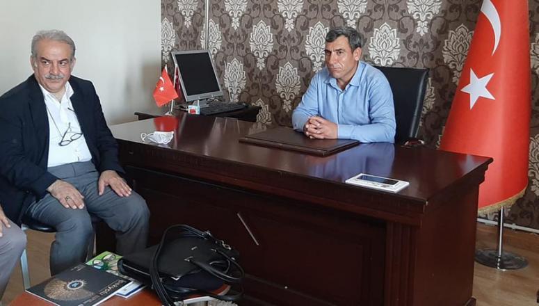 Müdür Keremoğlu'ndan, Tüketiciler Birliği Van Şubesi'ne ziyaret...
