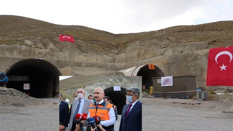 Güzeldere Tüneli 2022 yılına girilmeden tamamlanacak