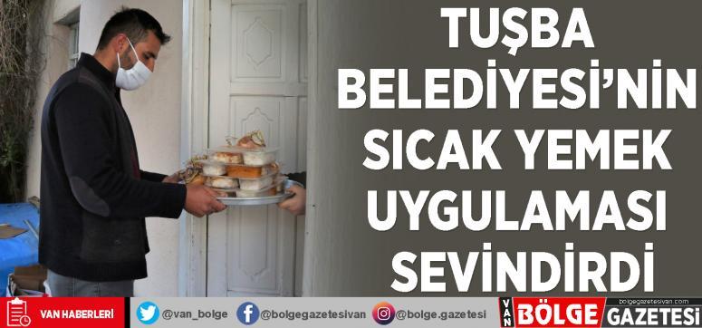 Tuşba'daki hasta, yaşlı ve kimsesizlere sıcak yemek