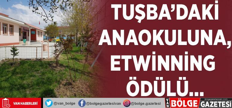 Tuşba'daki anaokuluna, eTwinning ödülü…