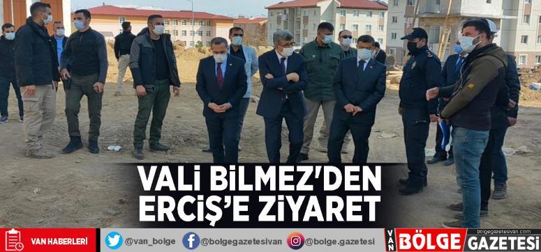 Vali Bilmez'den Erciş'e ziyaret