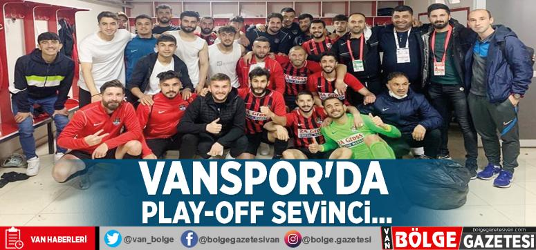 Vanspor'da play-off sevinci...