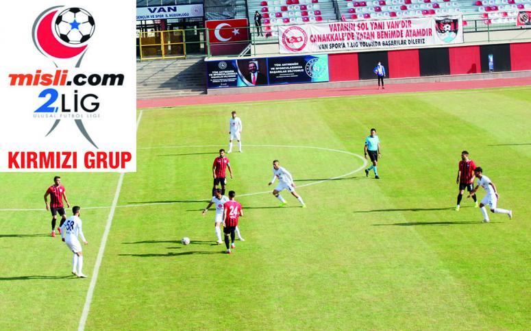 Vanspor'un grubunda son altı haftaya girildi, zirve kızıştı