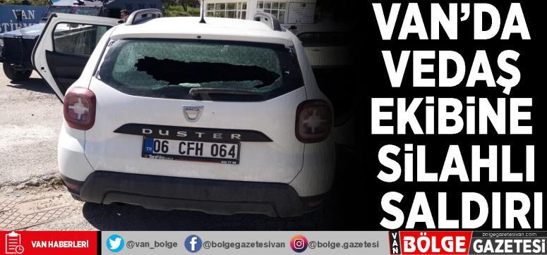 Edremit'te VEDAŞ ekibine silahlı saldırı