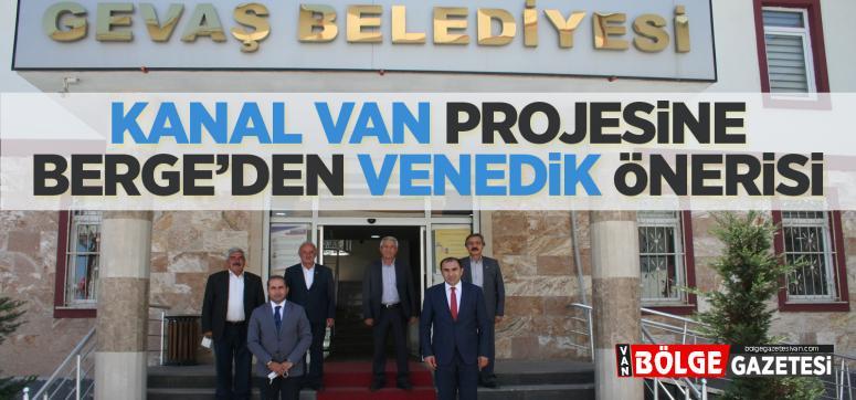 Berge'nin, Sezer'i ziyaretinde Vanedik Projesi konuşuldu