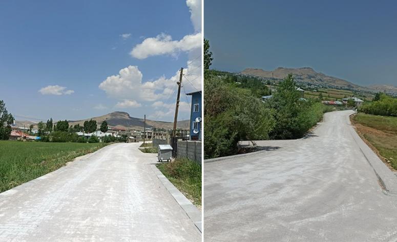 İpekyolu'nun kırsal mahallelerine yeni yollar…