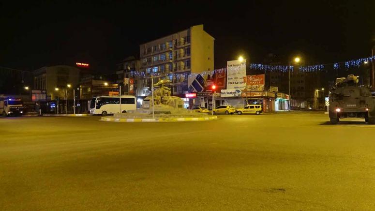 Van'da 80 saatlik sokağa çıkma kısıtlaması başladı