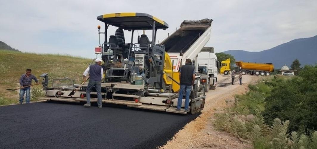 Başkale'de bitümlü sıcak asfalt yapılacak