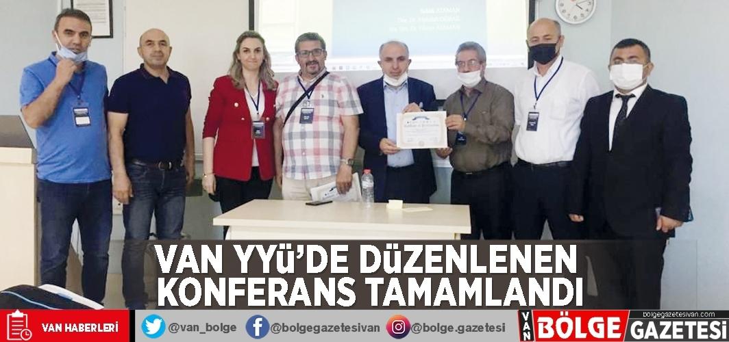 Van YYÜ'de düzenlenen konferans tamamlandı