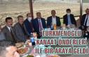 Türkmenoğlu, Başkale'de kanaat önderleriyle...