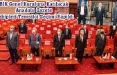 Kolaylı, Arslan ve Erzen, yeniden BİK Genel Kurul üyeliğine seçildi