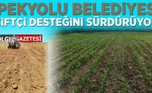 İpekyolu Belediyesi'nin çiftçi desteği sürüyor