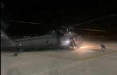 Polis helikopteriyle sevk edilen bebek kurtarılamadı