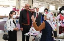Başkan Vekili Aydın, belediye çalışmalarını...