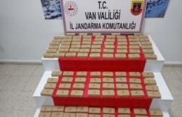 Van'da 123 kilo eroin ele geçirildi