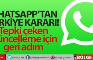 WhatsApp'tan Türkiye kararı! Tepki çeken güncelleme...